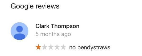 Bad Google review - local SEO issue