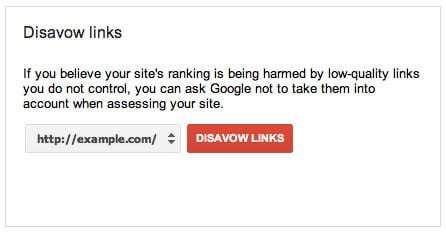 Off-page SEO issues - disavow tool